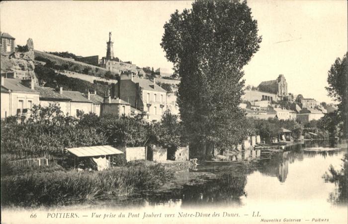 Poitiers Pont Joubert Notre-Dame des Dunes