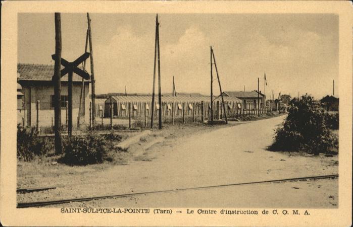 Saint Sulpice La Pointe Tarn Centre d`Instruction