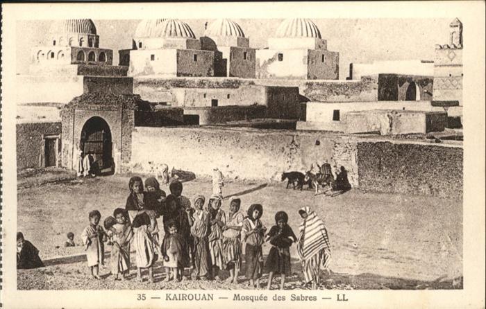AK / Ansichtskarte Kairouan Mosquee Sabres /  /