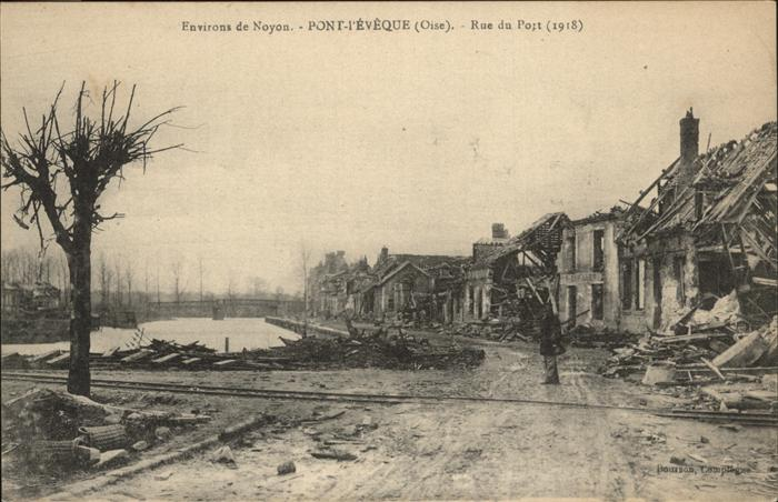 AK / Ansichtskarte Noyon Pont l`ÈVèque Rue du Pont /  /