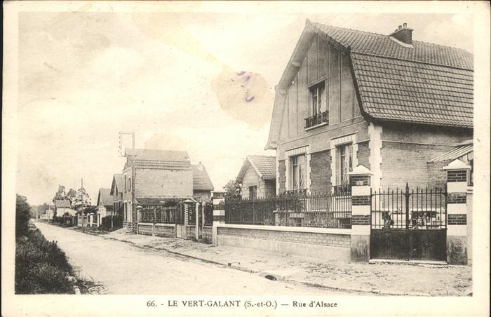 AK / Ansichtskarte Le Vert-Galant Rue d Alsace /  /