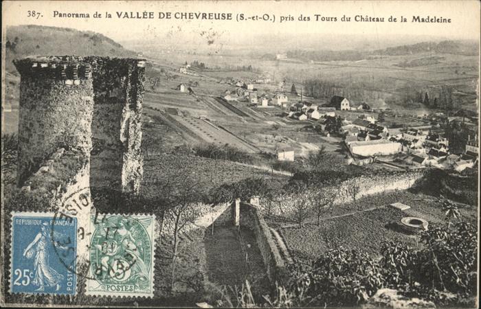 AK / Ansichtskarte Vallee de Chevreuse Tours du Chateau de la Madeleine /  /