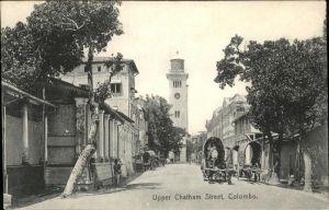 AK / Ansichtskarte Colombo Upper chatham Street Kat. Colombo