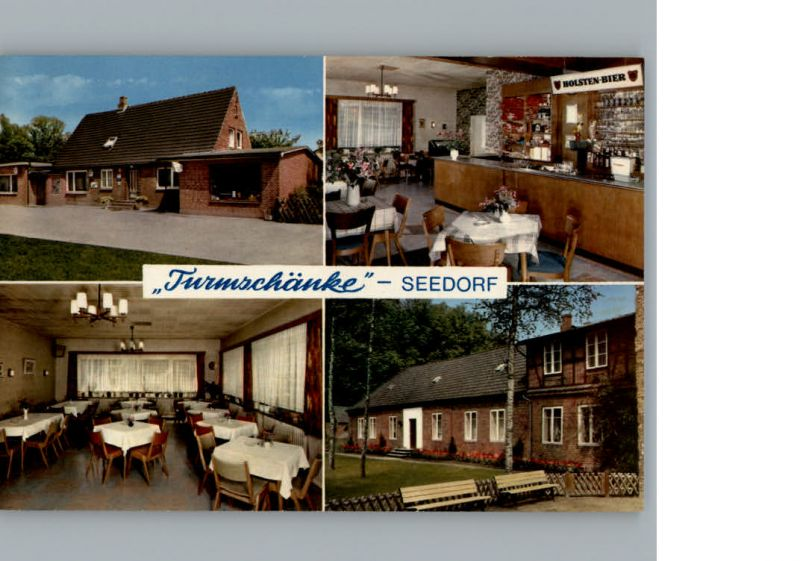 Seedorf Bad Segeberg Gasthaus Turmschaenke /  /