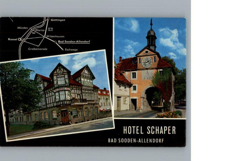 Bad Sooden-Allendorf Hotel Schaper /  /