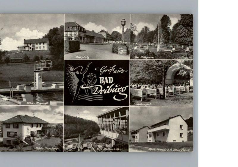 Bad Driburg Schwimmbad, Haus Ingeborg, Cafe Falkenhoehe /  /