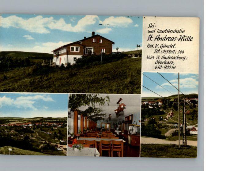 St. Andreasberg Ski und Touristenheim St. Andreas-Huette /  /