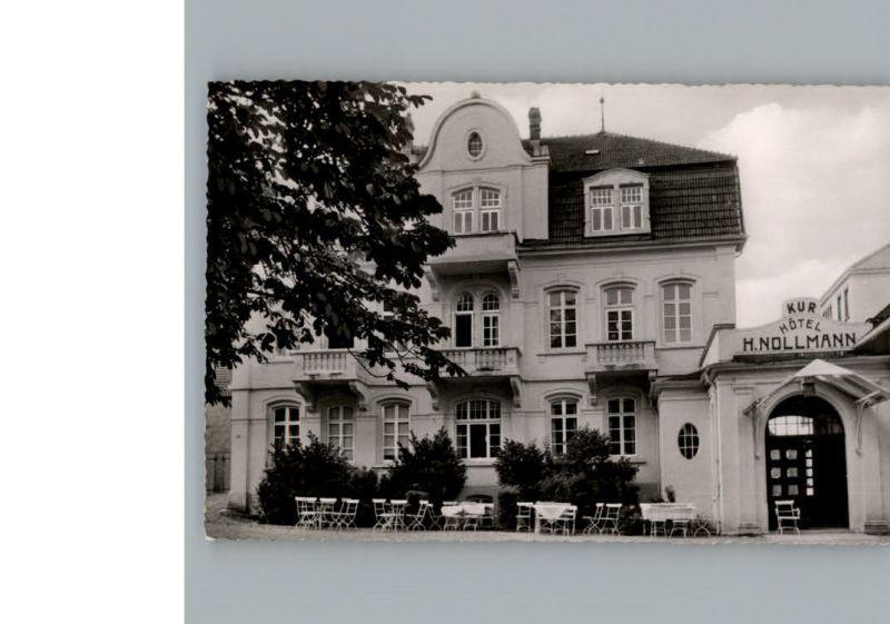 AK / Ansichtskarte Bad Rothenfelde Kurhotel Nollmann /  /