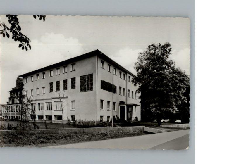 Bad Lippspringe Sanatorium St.-Josefshaus /  /