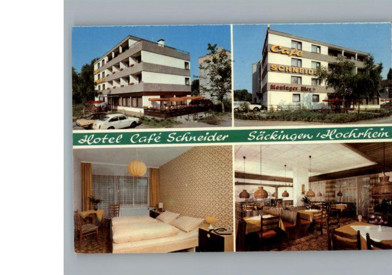 Bad Saeckingen Hotel, Cafe Schneider /  /