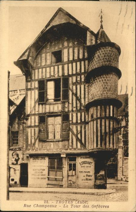 Troyes Rue Champeaux Kat. Troyes