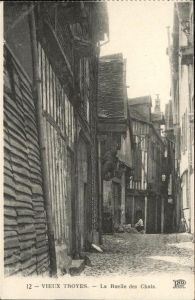 Troyes Vieux Troyes Ruelle Chats Kat. Troyes