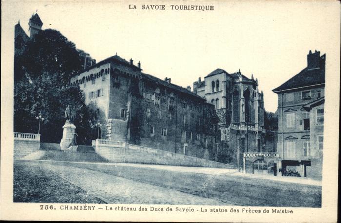 Chambery Savoie Touristique Kat. Chambery