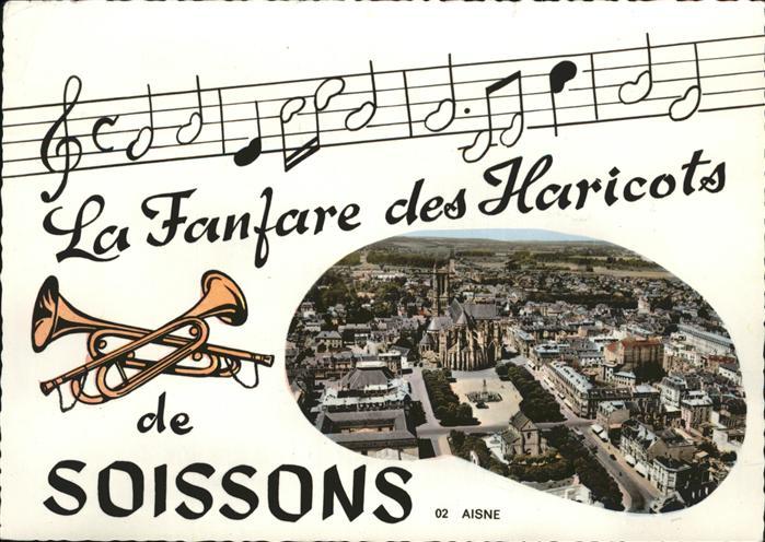 AK / Ansichtskarte Soissons la Fanfare des Haricots Kat. Soissons