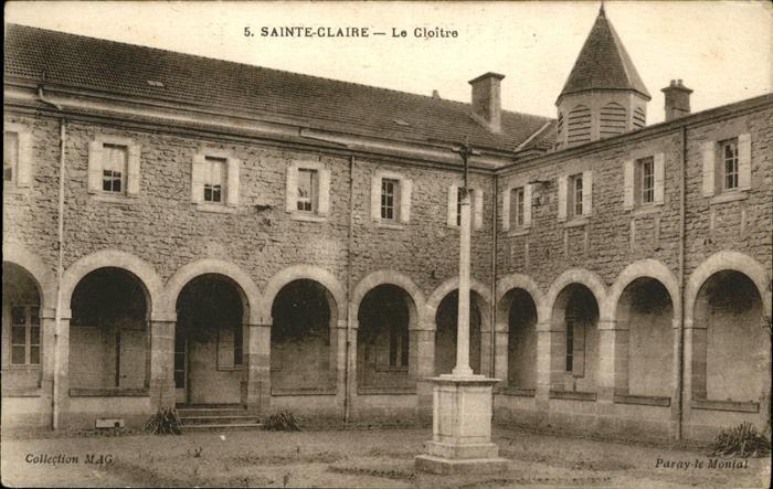 AK / Ansichtskarte Sainte-Claire Cloitre