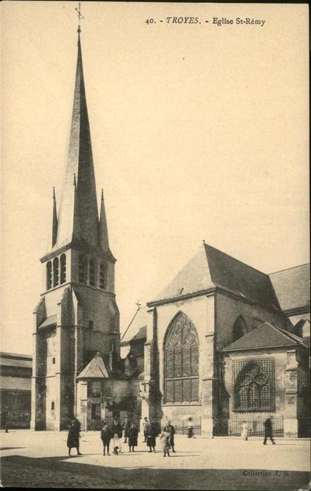 AK / Ansichtskarte Troyes Eglise St. Remy Kat. Troyes