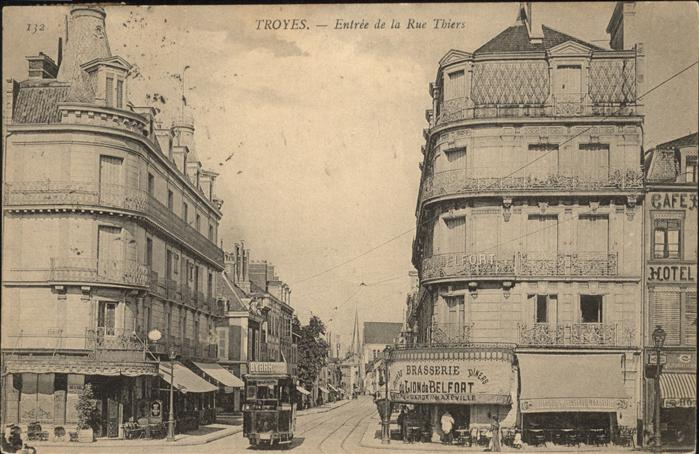 Troyes Rue Thiers Kat. Troyes