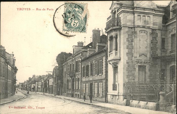 Troyes Rue de Paris Kat. Troyes
