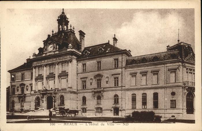 Meaux Hotel de Ville Kat. Meaux