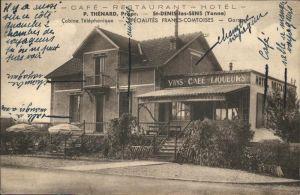 Saint-Denis-les-Sens Cabine Telephonique