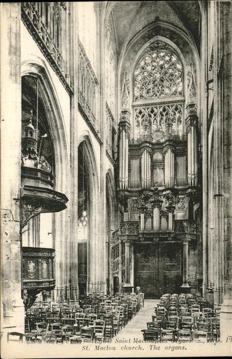 Kirchen Saint Maclou Kat. Gebaeude