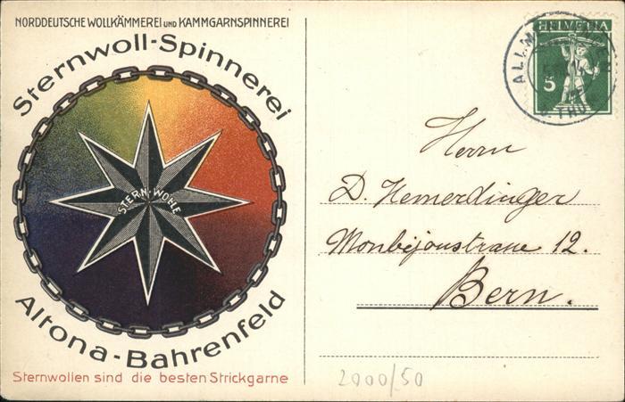 Altona Bahrenfeld Strickgarne Wolllaemmerei Kat. Deutschland