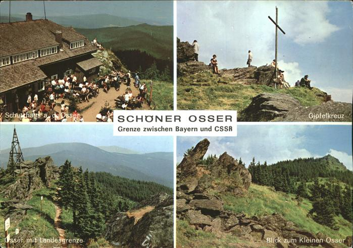 Schoener Osser Bayern Schutzhaus a.d.Osser