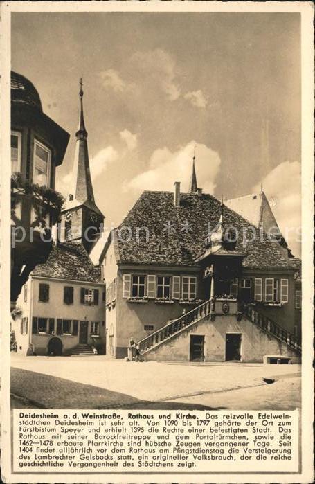 deid Rathaus und Kirche