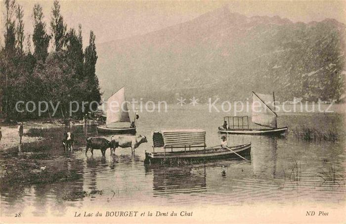 Bourget du Lac Savoie Le See Kat. Le Bourget du Lac
