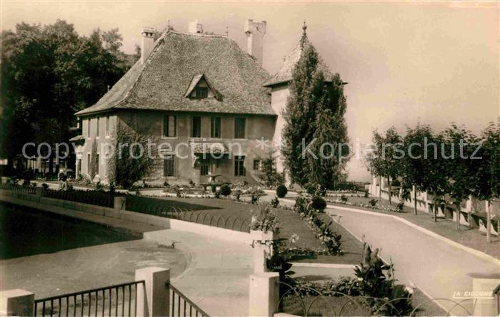 Thonon les Bains Chateau de Sonnaz Kat. Thonon les Bains