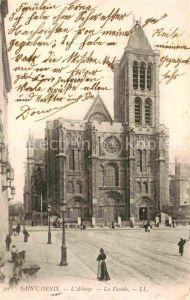 AK / Ansichtskarte Saint Denis Seine Saint Denis L Abbaye La Facade
