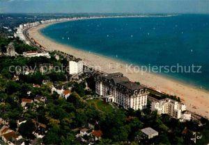 La Baule Atlantique La grande plage et Boulevard de Mer vue aerienne Collection La Bretagne en couleurs Kat. La Baule Escoublac
