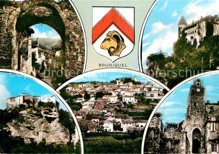 AK / Ansichtskarte Bruniquel Vues d ensemble Chateau Eglise Ruines Kat. Bruniquel
