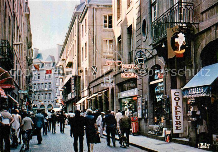 AK / Ansichtskarte Saint Malo Ille et Vilaine Bretagne Rue Saint Vincent Kat. Saint Malo