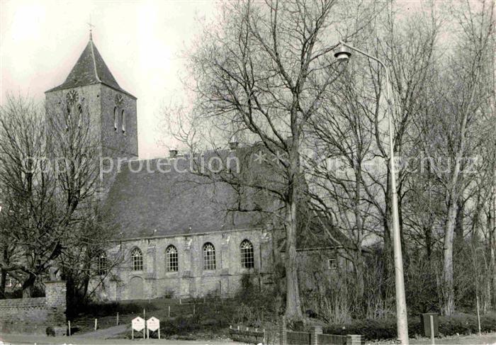 AK / Ansichtskarte Oost Souburg Hervormde Kerk Kirche