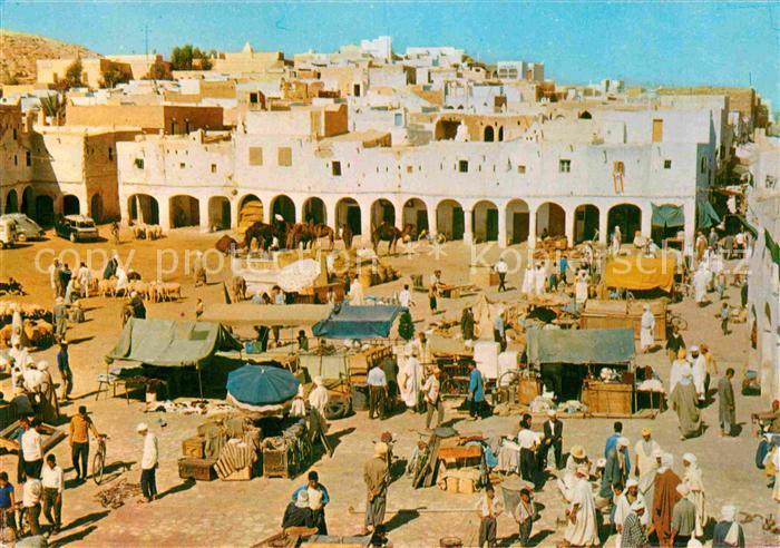 AK / Ansichtskarte Ghardaia Markt Kat. Algerien