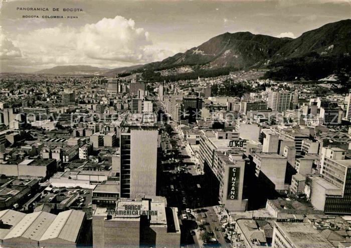 Bogota Colombia Panorama  Kat. Bogota
