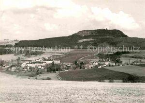 AK / Ansichtskarte Cranzahl Panorama Blick zum Baerenstein Kat. Sehmatal