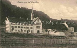 AK / Ansichtskarte Einsiedeln SZ Frauenkloster Kat. Einsiedeln