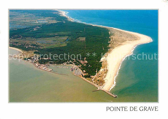 AK / Ansichtskarte Le Verdon sur Mer Pointe de Grave vue aerienne Kat. Le Verdon sur Mer