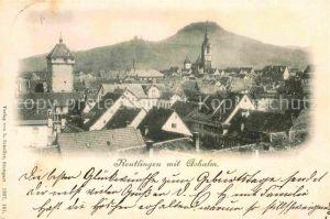 AK / Ansichtskarte Reutlingen Tuebingen mit Achalm