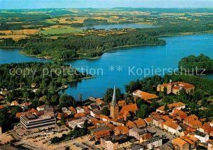 AK / Ansichtskarte Eutin Seen Holsteinische Schweiz Fliegeraufnahme Kat. Eutin