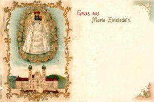 AK / Ansichtskarte Einsiedeln SZ Kloster Maria Einsiedeln Gnadenbild Kat. Einsiedeln
