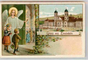 AK / Ansichtskarte Einsiedeln SZ Kloster Kirche Gnadenbild Kat. Einsiedeln