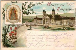 AK / Ansichtskarte Einsiedeln SZ Kloster Gnadenbild Kat. Einsiedeln
