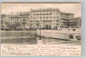 AK / Ansichtskarte Geneve GE Hotel Beau Rivage Kat. Geneve