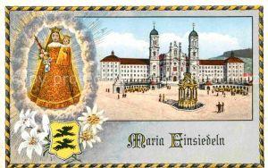 AK / Ansichtskarte Einsiedeln SZ Maria Einsiedeln Kloster  Kat. Einsiedeln