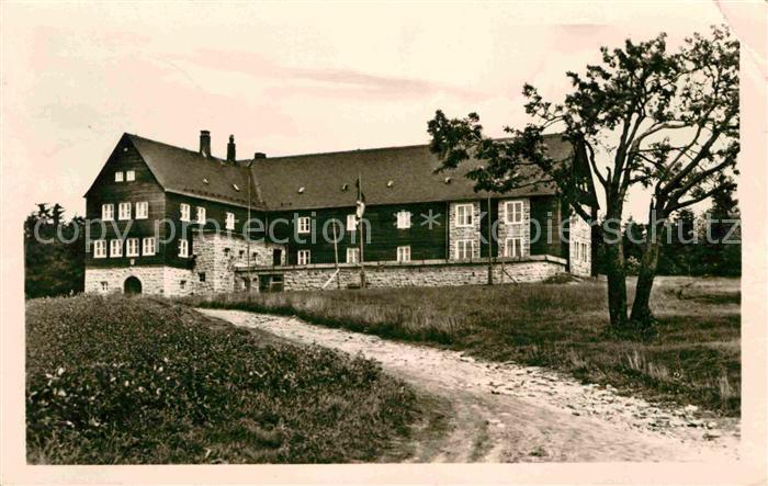 AK / Ansichtskarte Klingenthal Vogtland Jugendherberge Aschberg  Kat. Klingenthal Sachsen