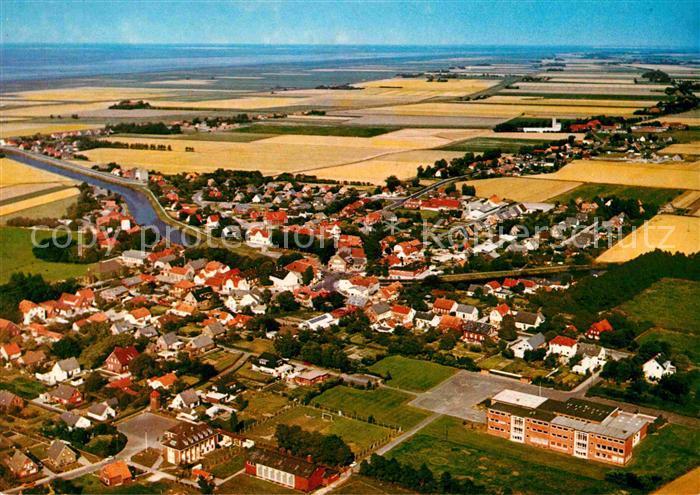 AK / Ansichtskarte Carolinensiel Ostfriesland Fliegeraufnahme Kat. Wittmund