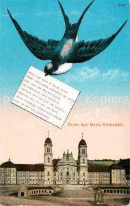 AK / Ansichtskarte Einsiedeln SZ Kloster Schwalbe Kat. Einsiedeln